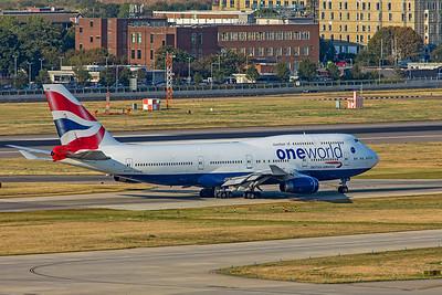 British Airways Boeing 747-436 G-CIVM 8-25-19