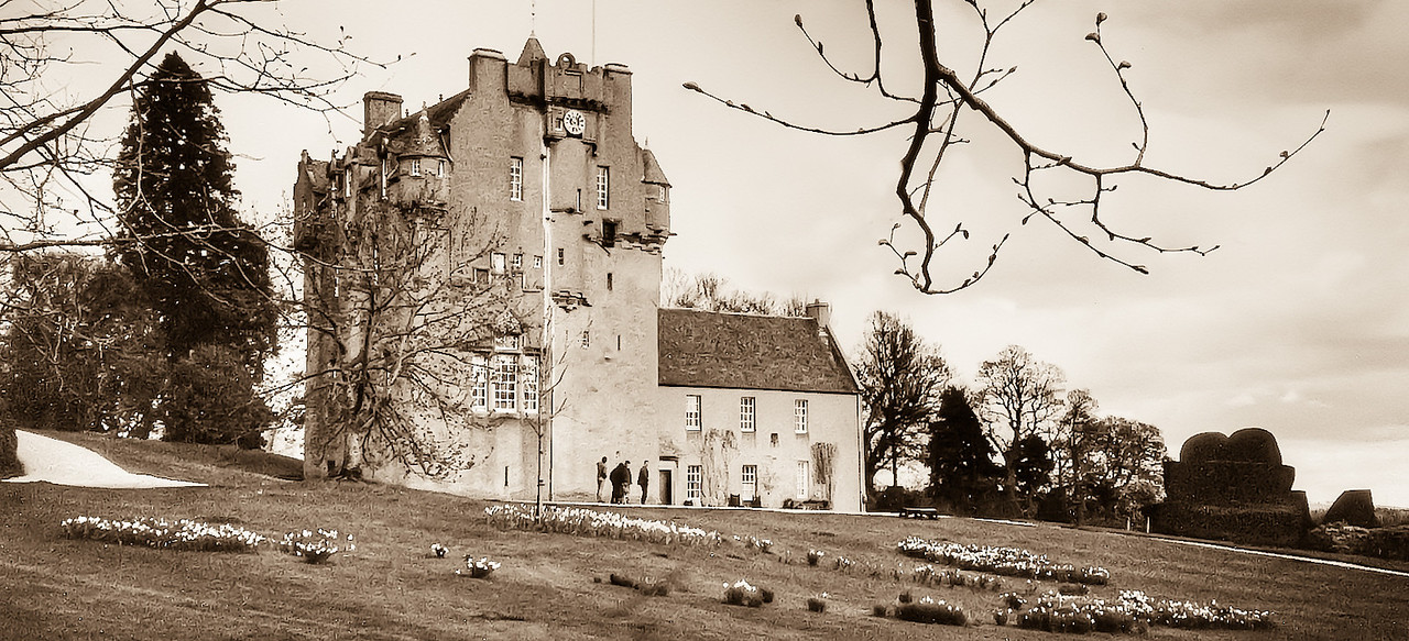 One of the many castles in Scotland - 1999