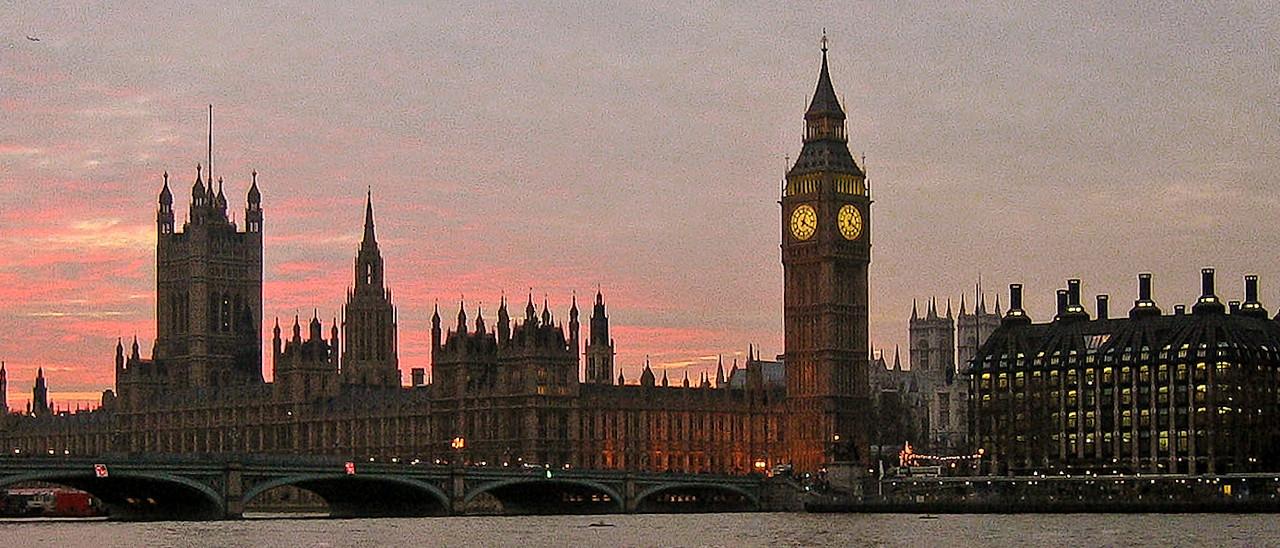 London skyline, 2003