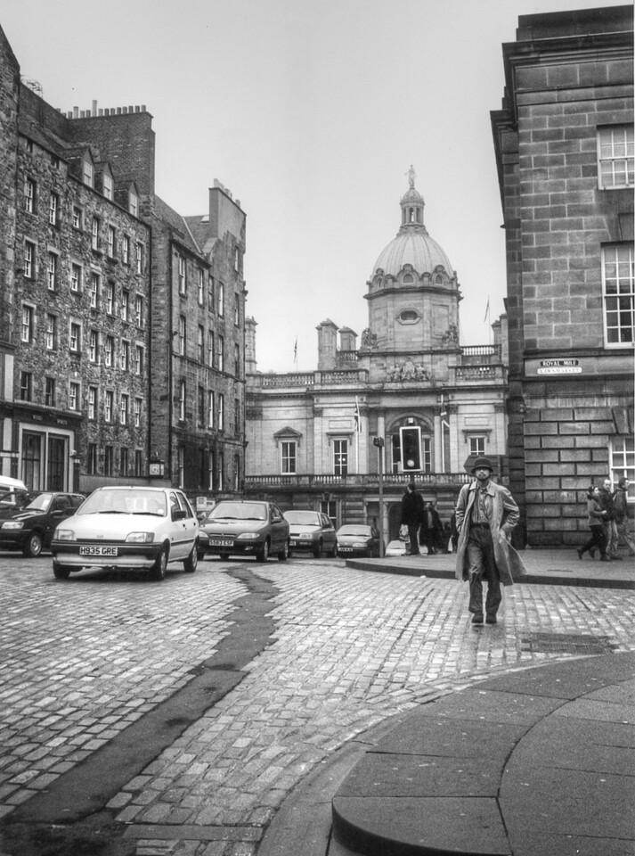 The Royal Mile in Edinburgh, Scotland - 1999