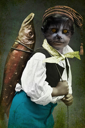 Catfish...the boy who ate too much fish.