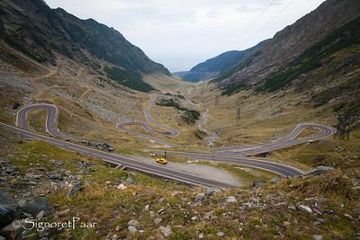 Down the Transfăgărăşan Highway to Transylvania