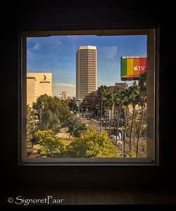 Wilshire Boulevard from LACMA