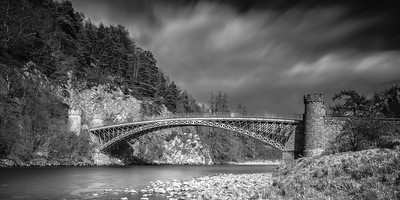 The craigellachie in mono, March 2017