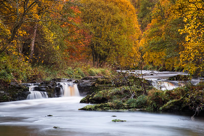 Falls at Glenlivet.
