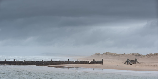 Lossiemouth at high tide