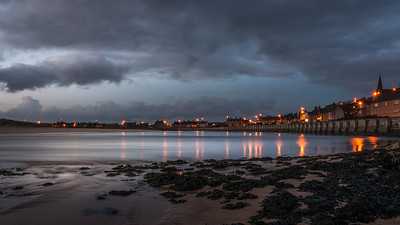 Lossiemouth Lights on the water.