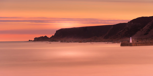 Sunrise at Cullen Harbour.