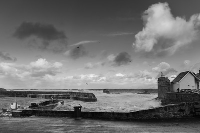 Portsoy in the eye of the storm