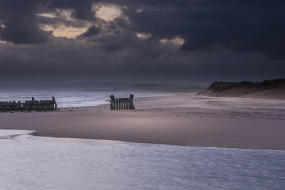 Storm.  Lossiemouth