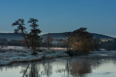 Frost and Mist 2 on the River Deveron. Rothiemay