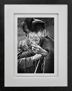 Old Man at the Market