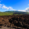 Standing in the old lava flow