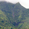 Waterfall above Hanalei - vertical