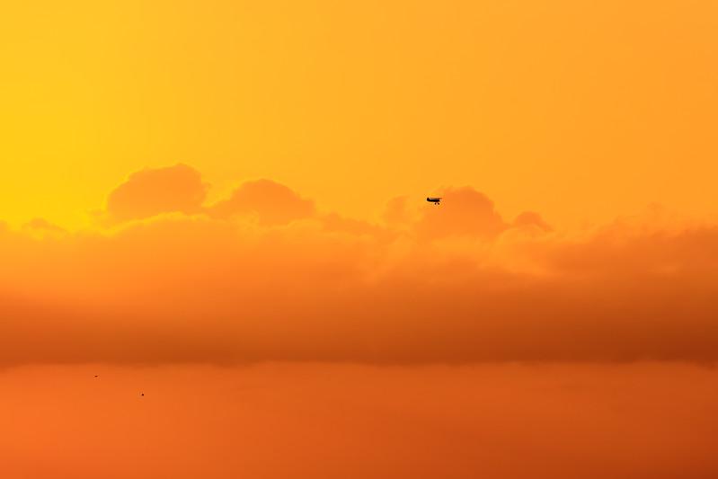 Shimoda - Biplane Sunset