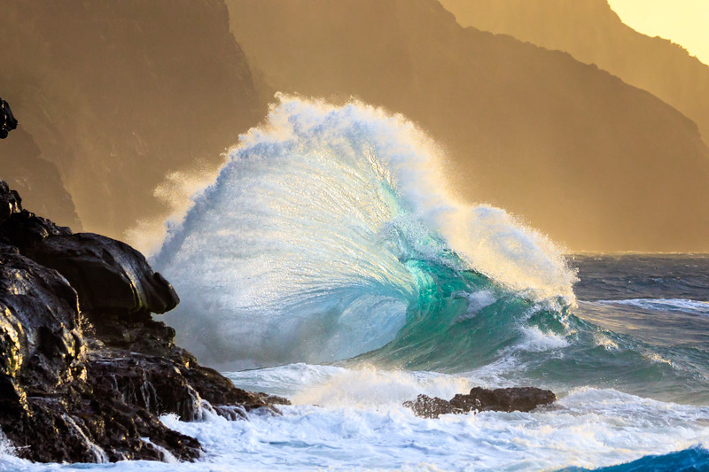 Na Pali Wave - Green Glass Wave