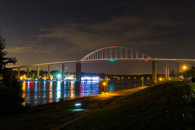Chesapeake City Bridge at Night (Chesapeake City, MD)