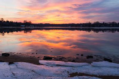 Winter on the Bohemia River (Chesapeake City, MD)