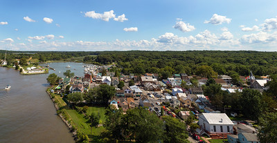 Chesapeake City MD View From Above