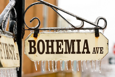 Bohemia Ave. Sign (Chesapeake City, Md)