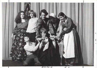 Liz Weston's AP English class doing Macbeth, fall 1977