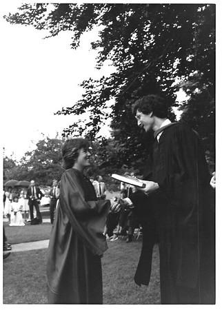 Steve Hahn's first graduation.