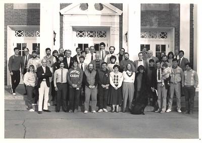 Faculty, c.  1990