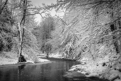 Ball's Falls in Winter - Twenty Mile Creek (1)