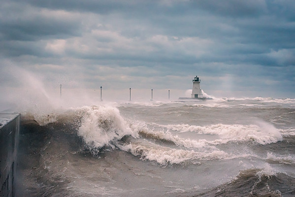 Port Maitland Pier - Windstorm 2: November 15, 2020