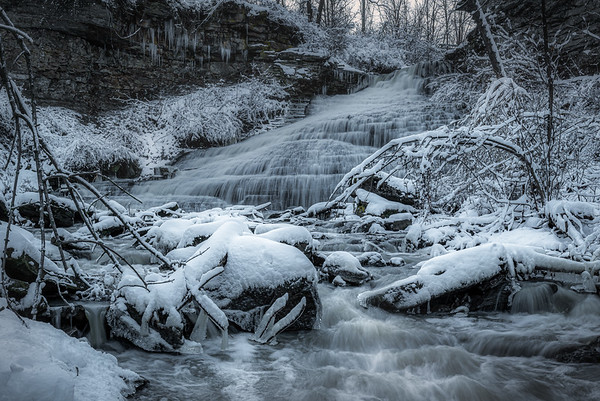 Beamers Falls in Grimsby, Ontario