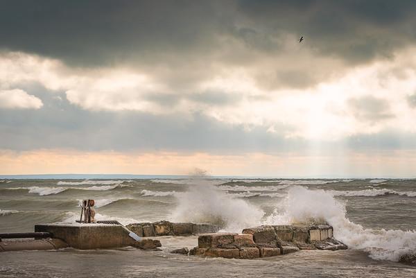Cedar Bay Beach Waves 1
