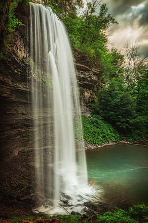 Decew Falls from the Side - St. Catharines