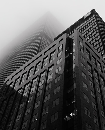 Toronto Towers in the Fog