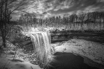 Ball's Falls in Winter - Lower Falls