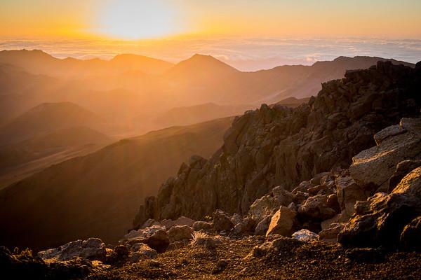Haleakala Sunrise in Maui, Hawaii