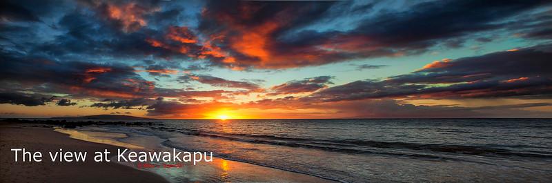The view at Keawakapu
