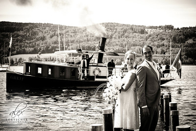 Dampfschiff für Hochzeit Greifensee