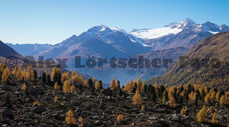 Die Bergwelt rund um Poschiavo