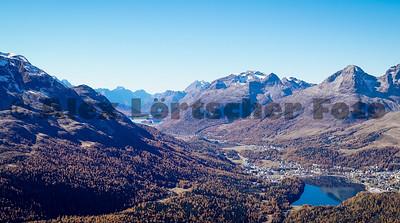 St. Moritz bei schönem Wetter