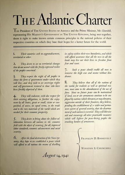 The Atlantic Charter: International Alliances