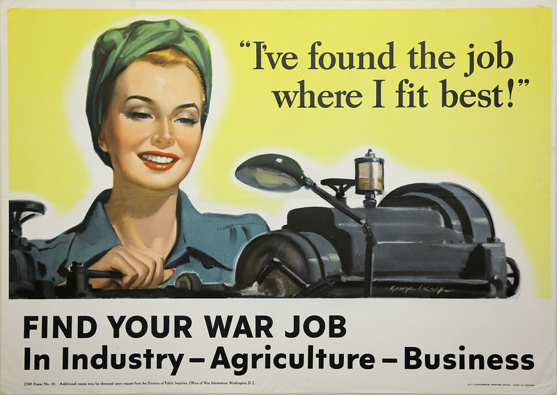 Find Your War Job: A Change for Women