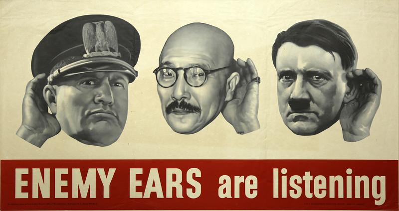 Enemy Ears Are Listening