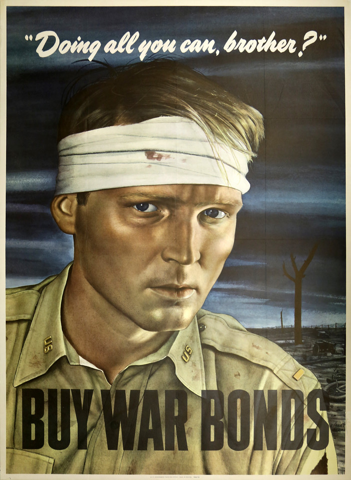 """Doing All You Can, Brother?"": War Bonds"