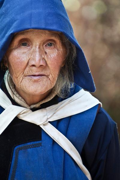 Elderly woman in Yunan