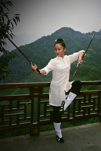 Taoist nun (Wudang)