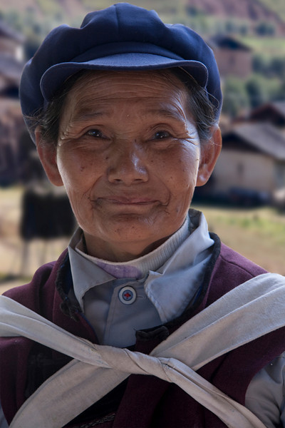 Elderly woman in Yunan