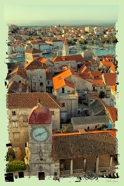 Trogir is the best preserved Romanesque-Gothic complex in Central Europe; and, in 1997, its historic centre was included in the UNESCO list of World Heritage Sites.