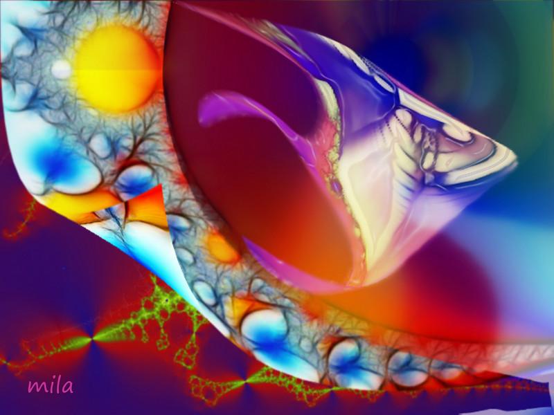 Surrealist fish
