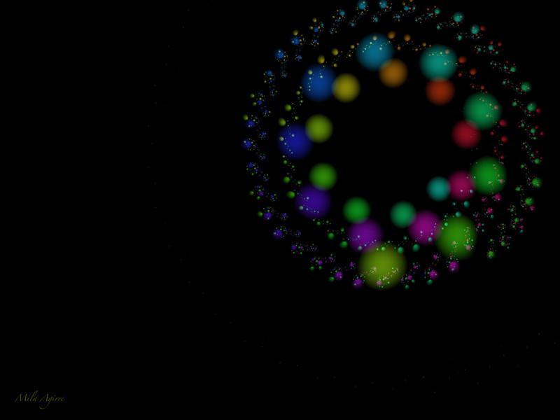 Spinning at night 4