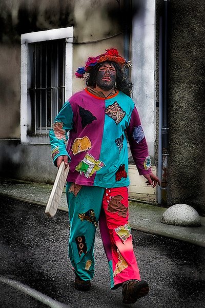 2014ko Atharratzekoko maskaradako buhameak<br /> The maskarada is a popular set of traditional, theatrical performances that take place annually during the time of carnival in the Basque Country.